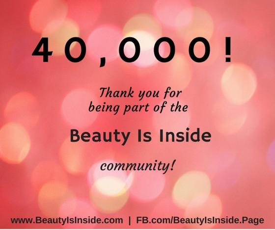 40,000 FANS!!!